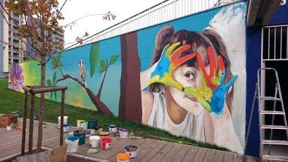 PARTECIPATED ART AT FRANCA RAME PARK - Murales - (Ascanio Cuba)