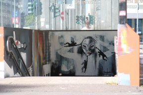 A LOOK TO THE FUTURE - Murales - Detail - (Ascanio Cuba)