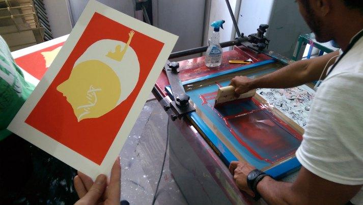 EMPTY - Screen printing - Detail - (Ascanio Cuba)