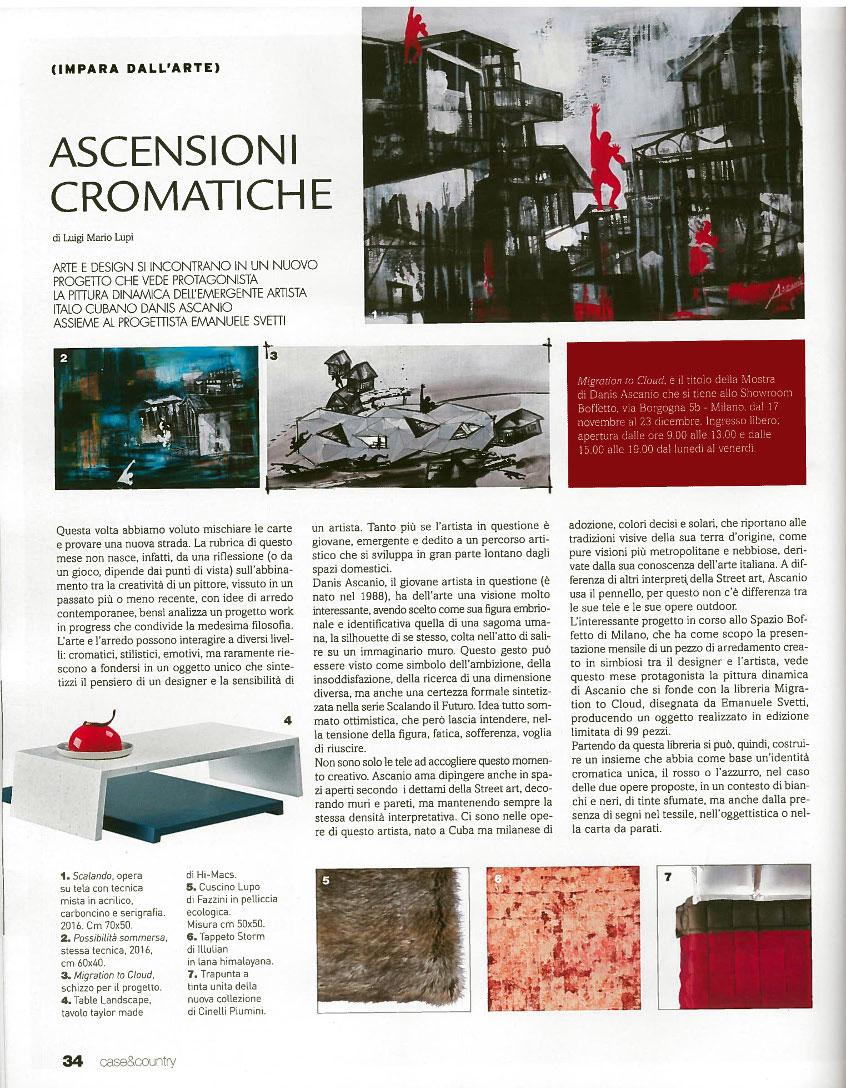 ASCENSIONI CROMATICHE - News - (Ascanio Cuba)