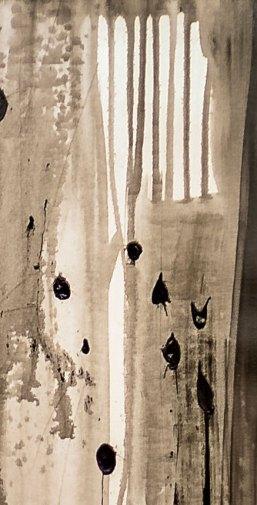 NON SENTO - Mix on canvas - Detail - (Ascanio Cuba)