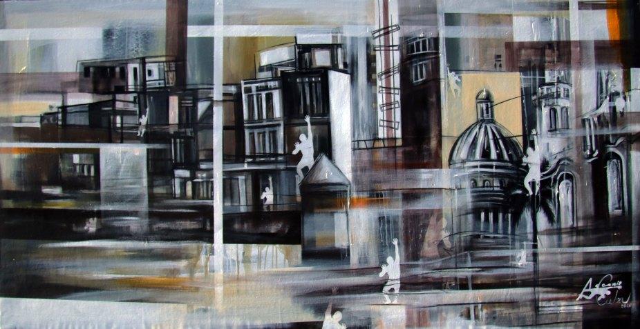 2020.Ascanio-Cuba-On-Canvas-CUBA PANORAMICA I