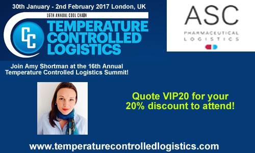 Amy Shortman ASC Temperature Controlled Logistics Summit 2017