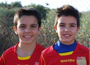Stefano Deriu e Mauro Zucca, protagonisti della partita