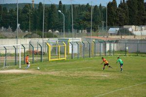 Marco Podda sigla il 3 - 0