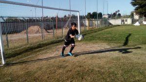 Riccardo Trudu  in allenamento