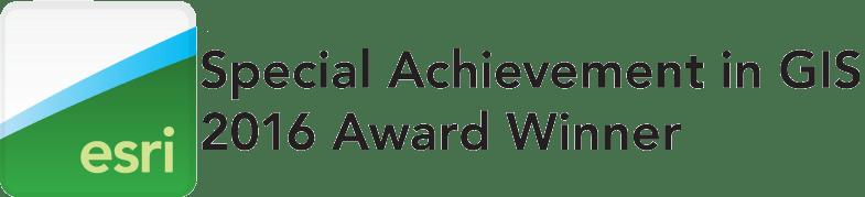 Esri Special Achievement Award