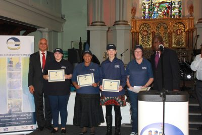 Congratulations to our newly graduated Bromley Street Pastors