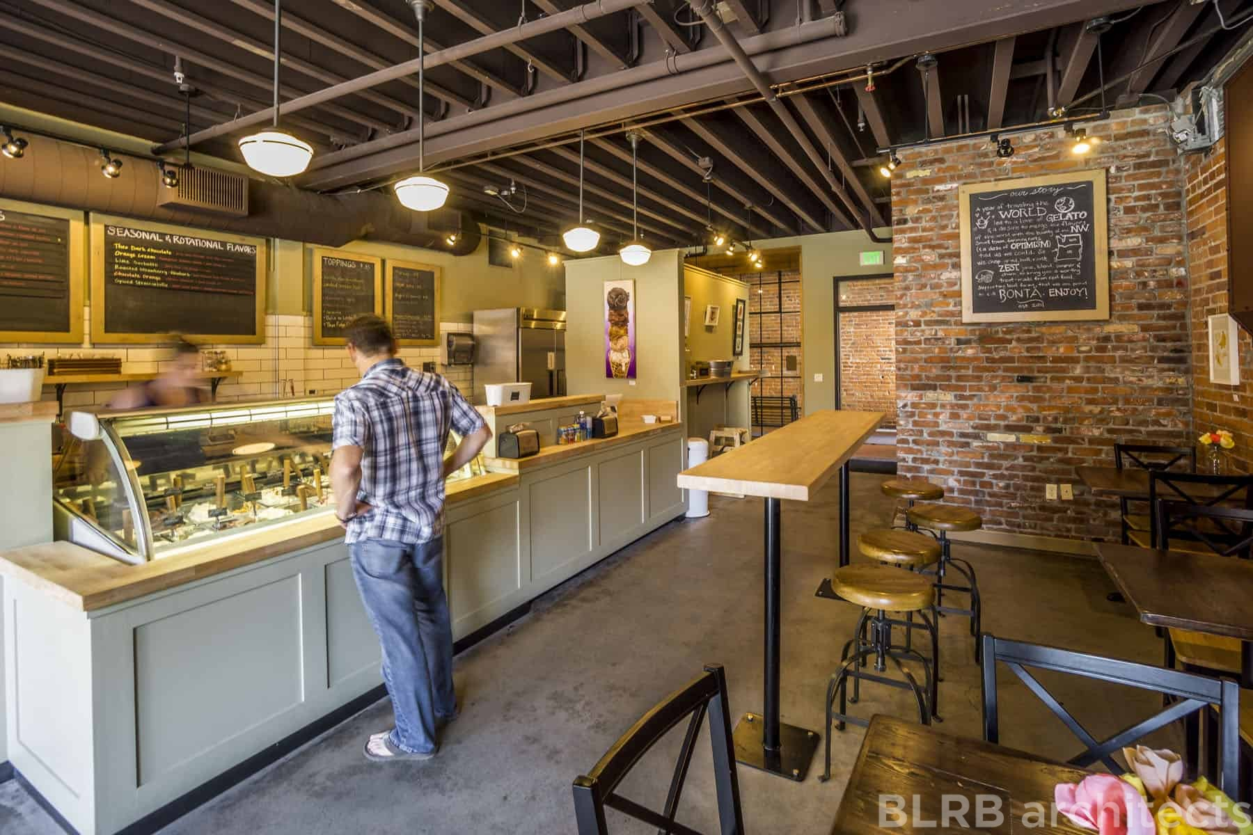 Bont Gelato Scoop Shop  Ascent Architecture  Interiors