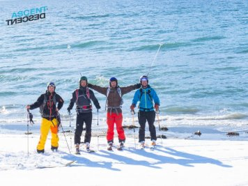 Welcome to the Ascent Descent, Summit to sea ski tours!