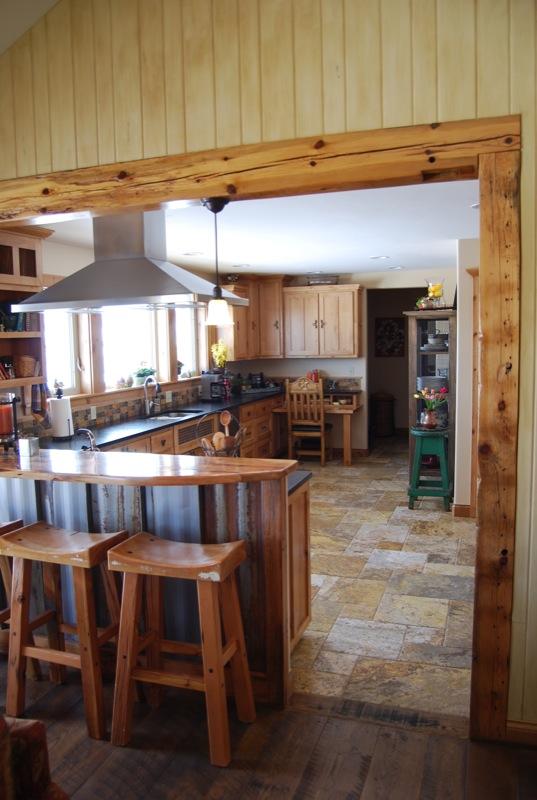 Bozeman, MT » Rustic Kitchen Remodel