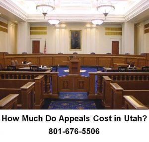 how much do appeals cost in utah