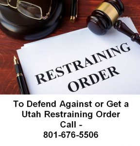 utah restraining order