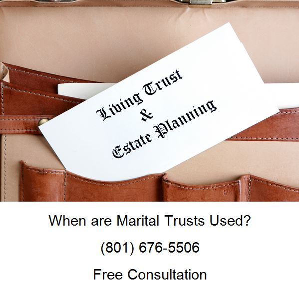 when are marital trusts used