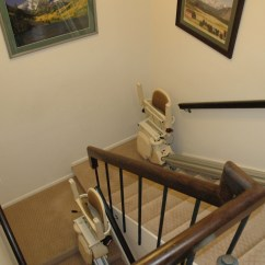 Electric Chair For Stairs In India Ergonomic Request Letter Custom Stairlift Vs Two Straight Stairlifts Ascent Mobility
