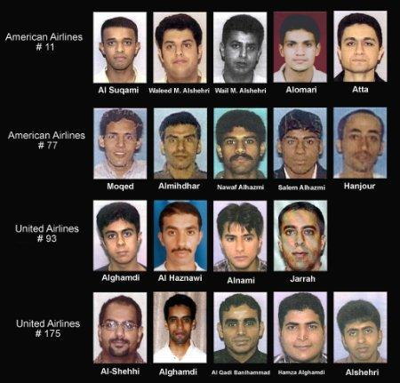 911 alledged hijackers