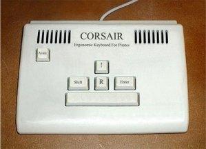 Corsair pirate keyboard