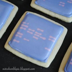 Gel Electrophoresis Cookies