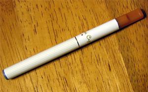 An electonic cigarette