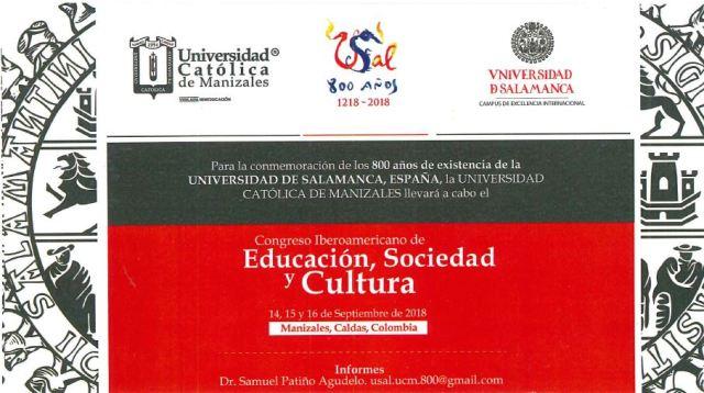 Invitación Congreso 800 años Salamanca