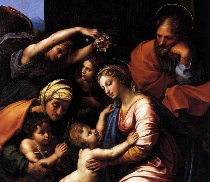"""Un'opera della mostra """"Cola dell'Amatrice da Pinturicchio a Raffaello"""