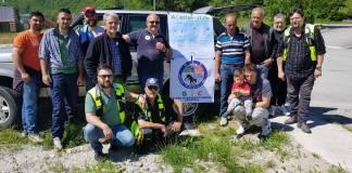 I volontari ad Arquata del Tronto