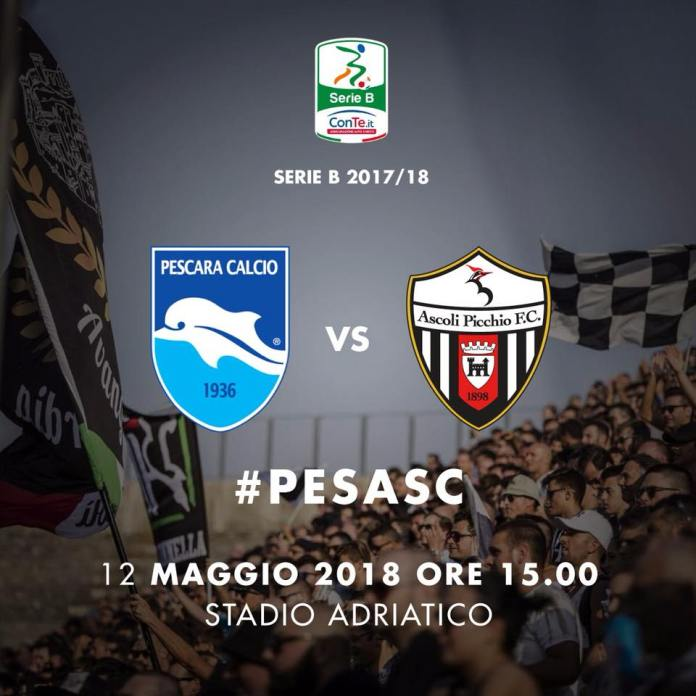Pescara Ascoli, sfida decisiva per la salvezza