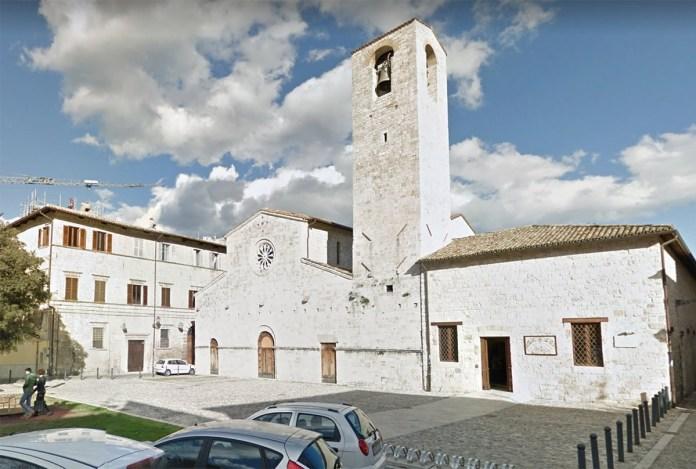 Piazza San Tommaso di Ascoli, foto da Google Maps