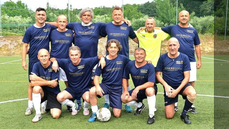 Una delle squadre impegnate domenica al Circolo Sportivo Fondazione Carisap di Monticelli