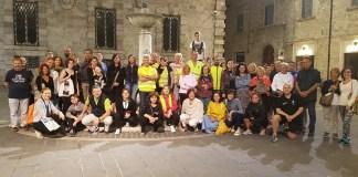Passeggiata della salute in piazza Arringo ad Ascoli