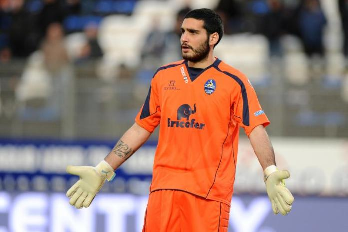 Il portiere Alessandro Iacobucci piace all'Ascoli Calcio