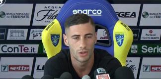 L'attaccante del Frosinone Nicola Citro in arrivo all'Ascoli Calcio?