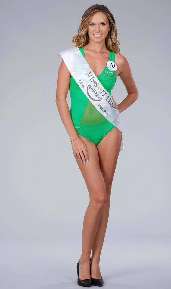 Erika Franceschini partecipa alla finalissima di Miss Italia