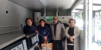 Inaugurata la nuova lavanderia automatica ad Arquata del Tronto