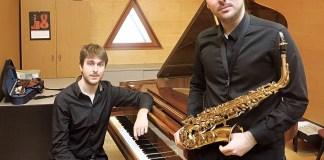 Il giovane duo spagnolo formato da Alejandro Anton Camara, piano e Alejandro Martinez Arias, sax