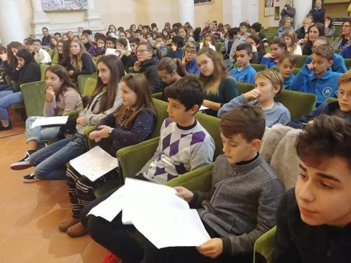 Il consiglio dei ragazzi di Ascoli Piceno, foto da ufficio stampa
