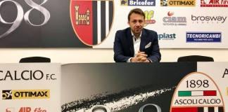 Il direttore sportivo dell'Ascoli Calcio Antonio Tesoro, foto da pagina Facebook ufficiale
