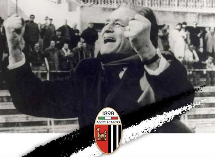 L'ex presidente dell'Ascoli Calcio Costantino Rozzi