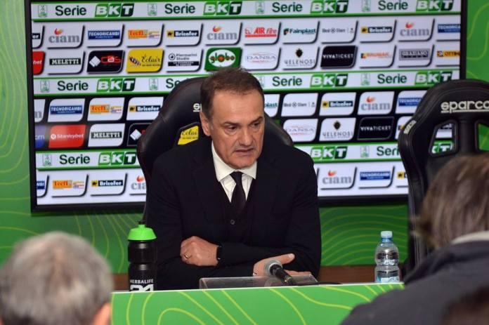 Vincenzo Vivarini, foto da pagina ufficiale Ascoli Calcio