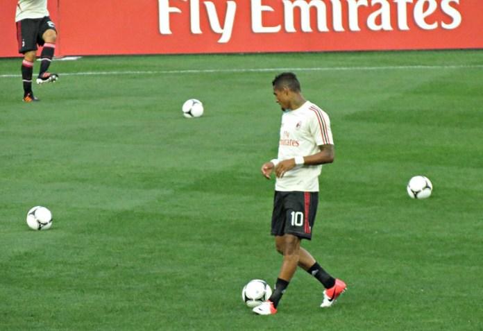 Il calciatore Boateng