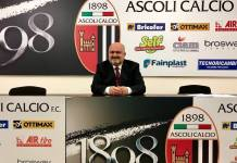 Il direttore generale dell'Ascoli Gianni Lovato, foto da pagina Facebook ufficiale Ascoli Calcio