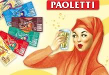Una vecchia pubblicità delle bibite Paoletti
