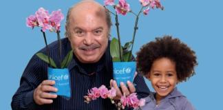 Lino Banfi è testimonia dell'Unicef