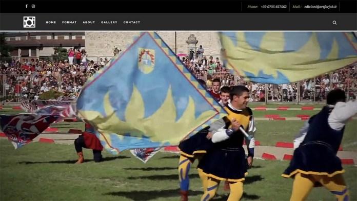 Una schermata dal sito PiceniTv