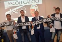 La presentazione del nuovo alllenatore dell'Ascoli Calcio Zanetti, foto da pagina Facebook ufficiale Ascoli Calcio