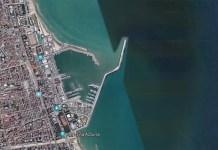 Veduta aerea di San Benedetto, foto da Google Maps