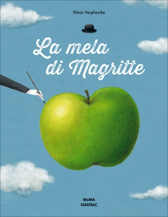 La mela di Magritte albo illustrato surrealismo