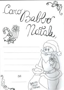 letterina a Babbo Natale