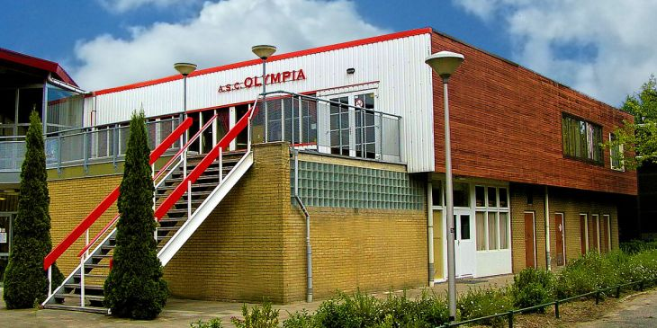 ASC Olympia - Faciliteiten: ASC Olympia Clubhuis op Sportpark Sloten