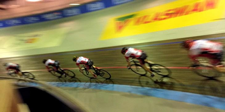 ASC Olympia: baanwielrennen in Amsterdam